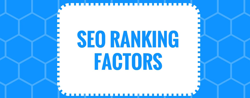 SEO Ranking Factors
