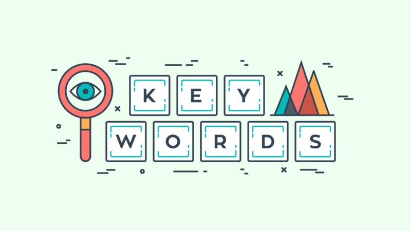 การใส่ keyword ที่ได้มาจากการวิเคราะห์